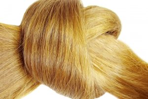 Hair knot fibres