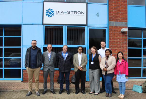 Dia-Stron Masterclass 2018 attendees group photo